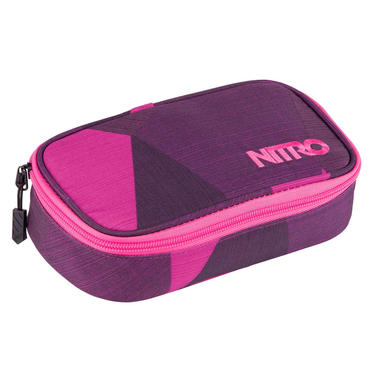 Školní pouzdro Nitro Pencil Case fragments purple