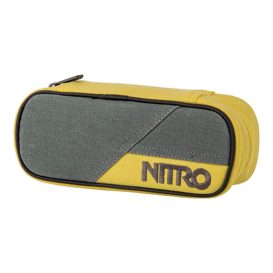 Školní pouzdro Nitro Pencil Case gunmetal