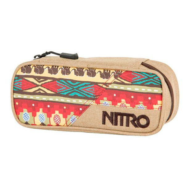 Školní pouzdro Nitro Pencil Case safari