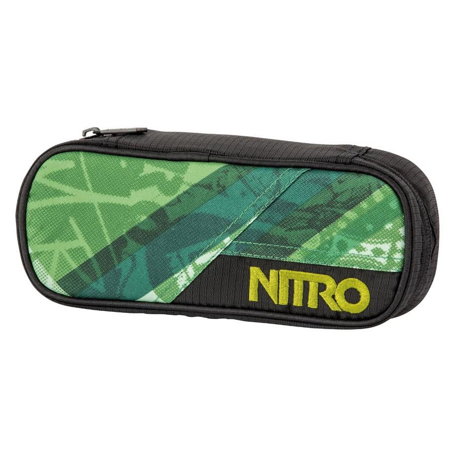 Školní pouzdro Nitro Pencil Case wicked green
