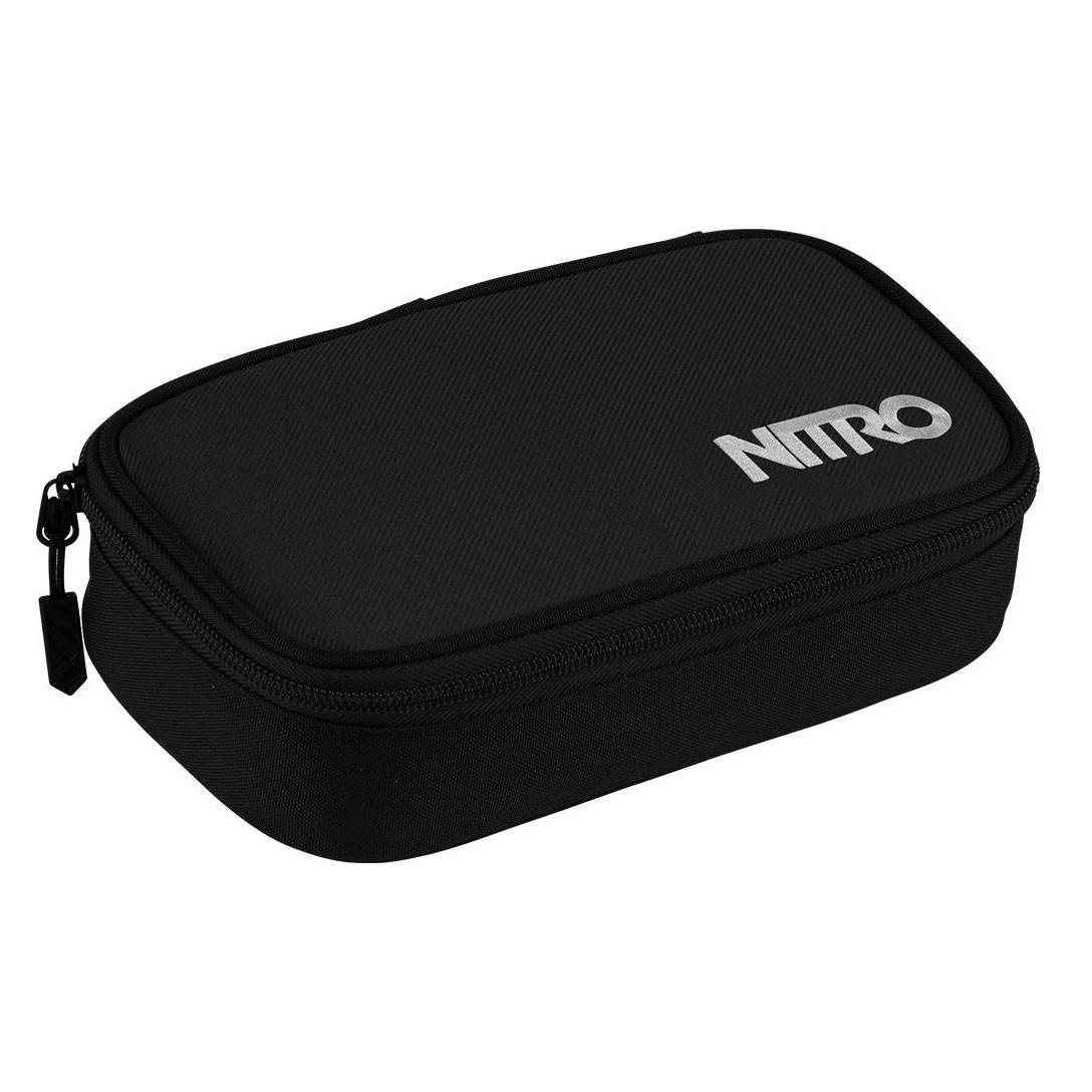 Školní pouzdro Nitro Pencil Case Xl black