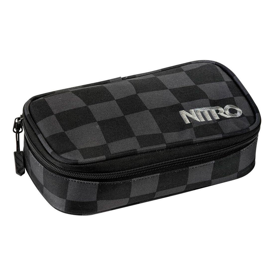Školní pouzdro Nitro Pencil Case Xl checker
