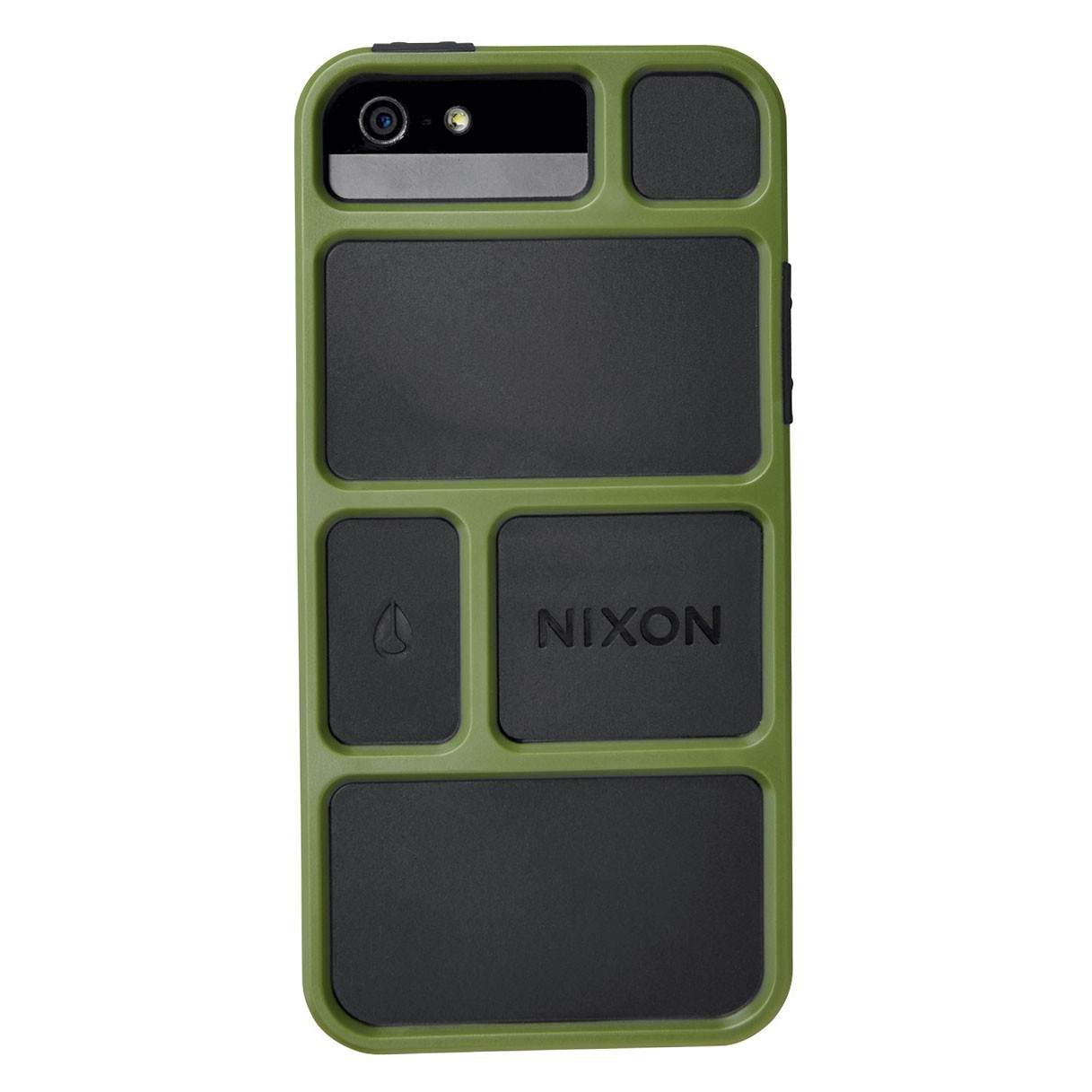 Obal na telefon Nixon Gridlock Iphone 5 surplus/black