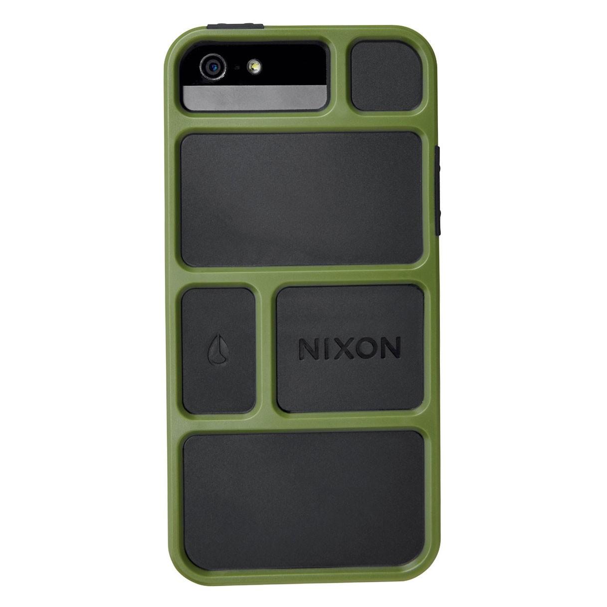 Obal na telefon Nixon Gridlock Iphone 5 surplus/black + doručení do 24 hodin