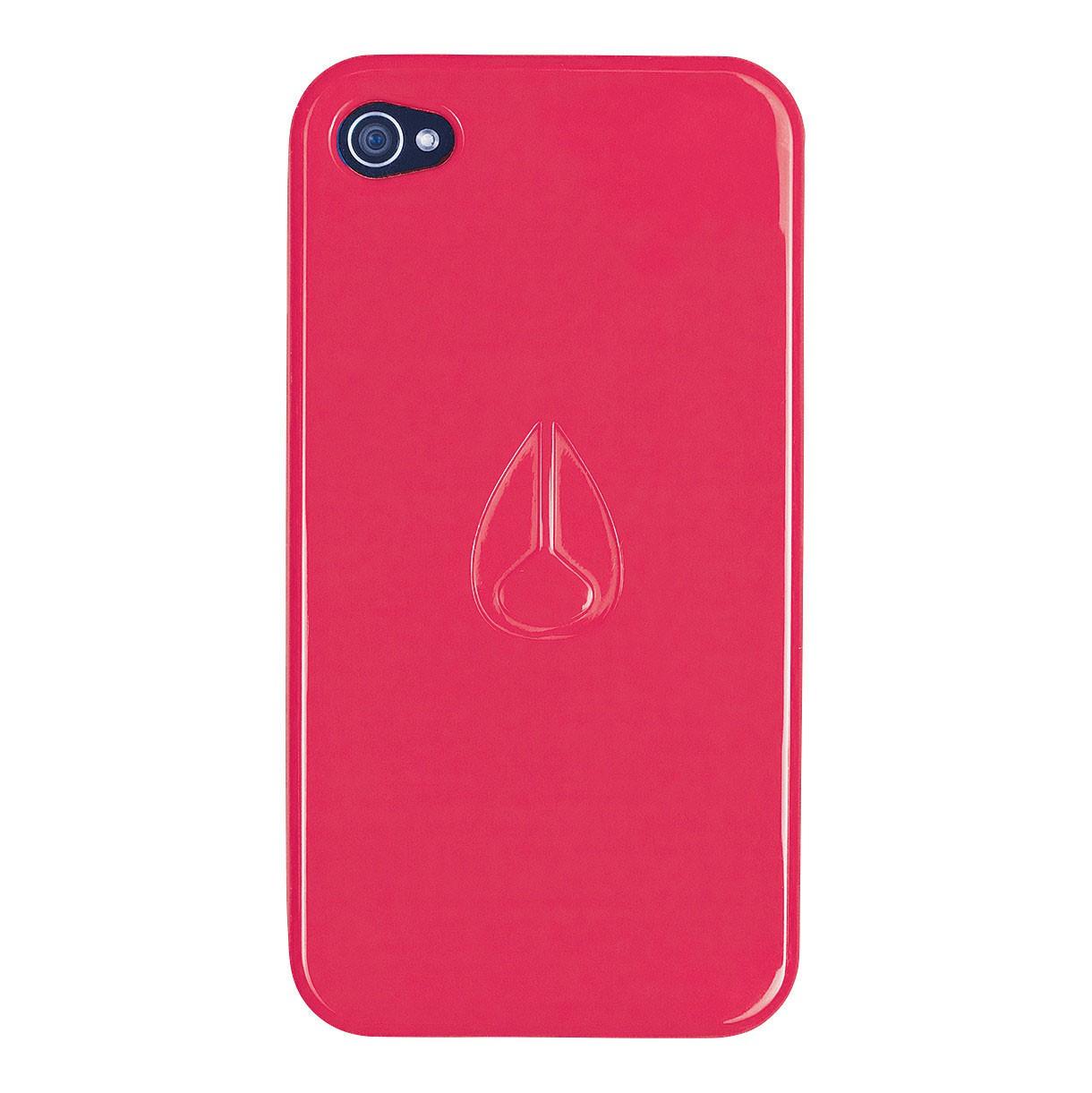 Obal na telefon Nixon Jacket Iphone 4 neon coral