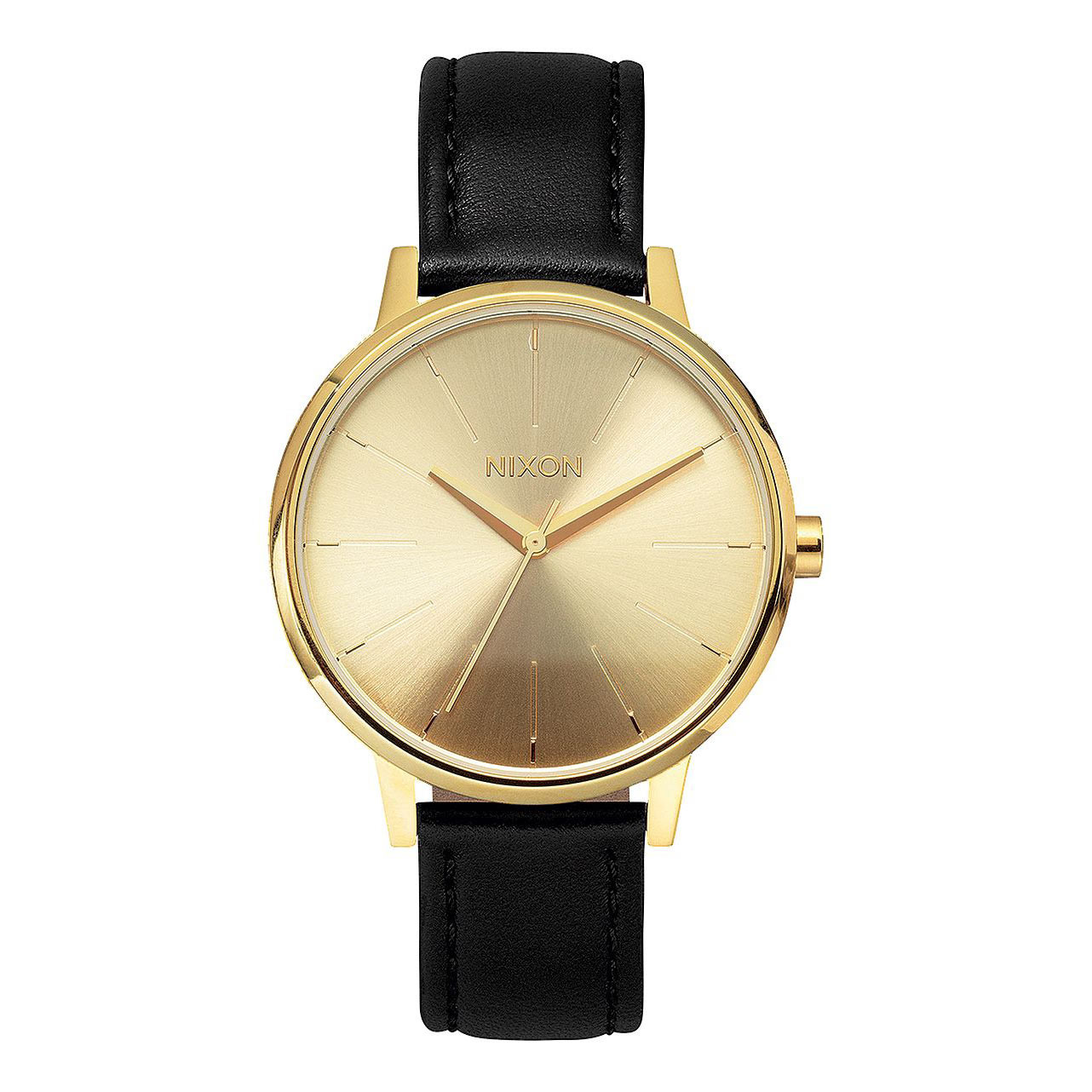 Hodinky Nixon Kensington Leather gold