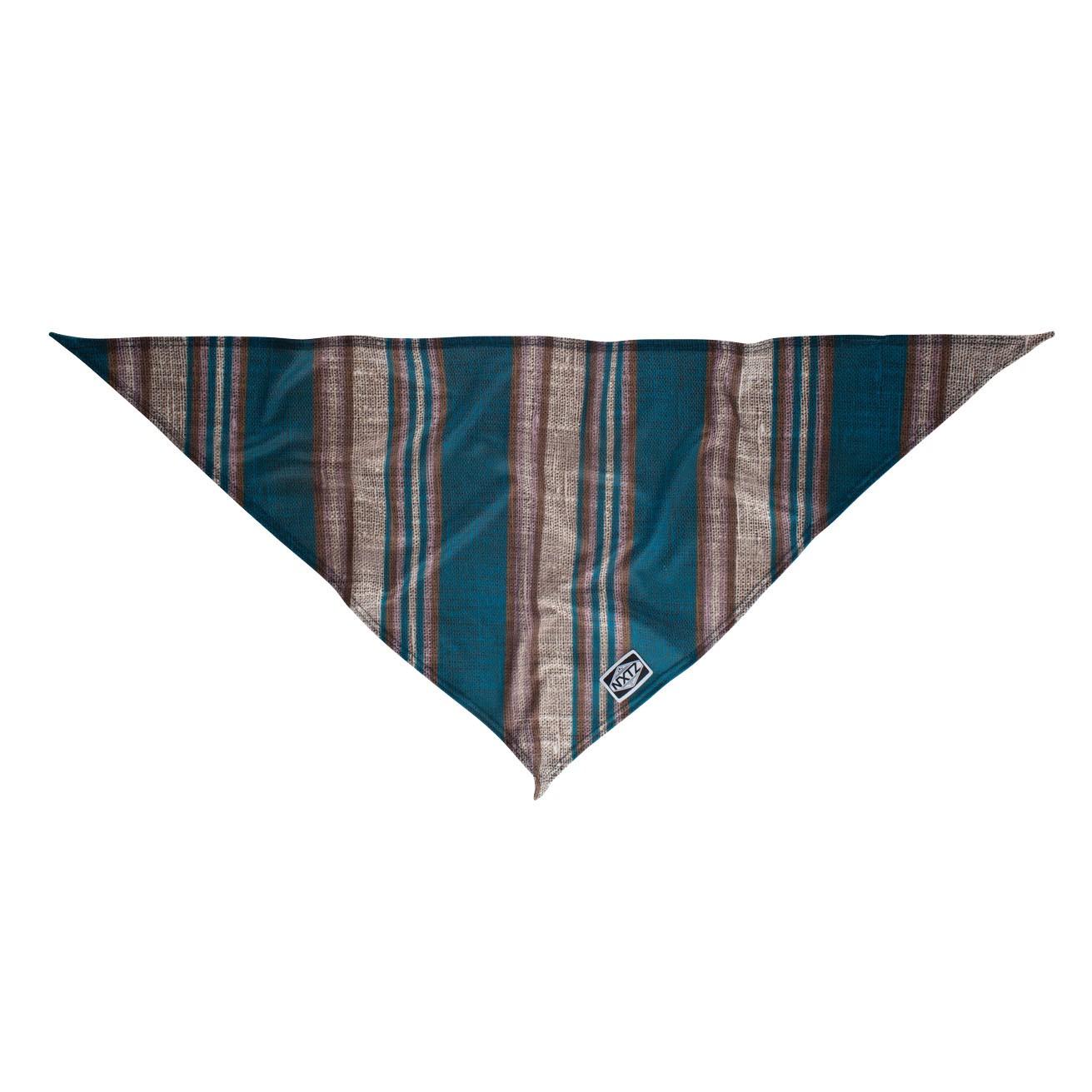 Šátek NXTZ Single Layer Bandana garage stripe blue