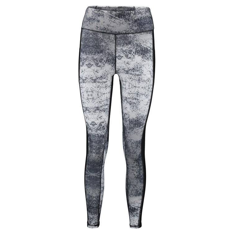 Lycra O'Neill Active Print 7/8 Legging black aop w/ white