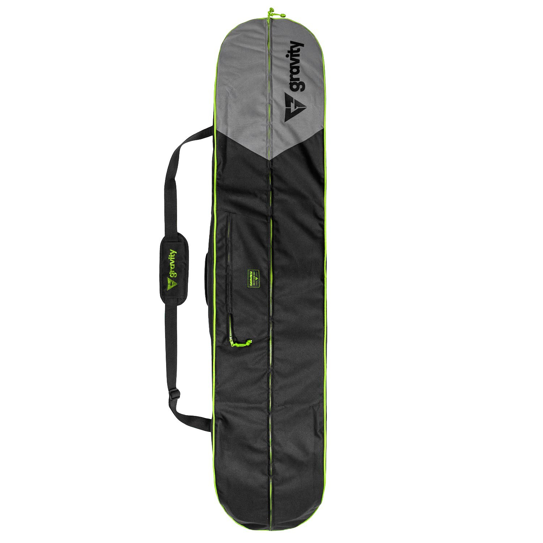 Obal na snowboard Gravity Icon black/lime