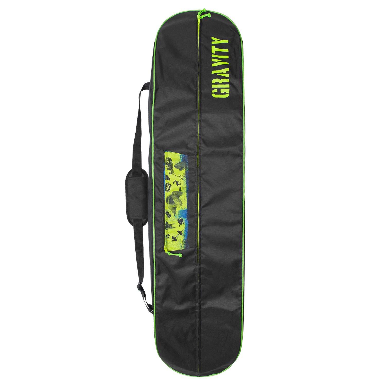 Obal na snowboard Gravity Kevin black/lime