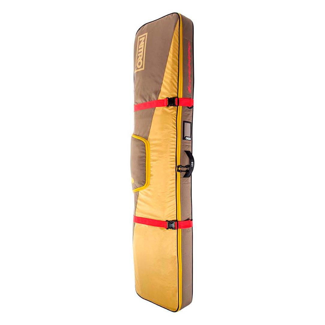 Obal na snowboard Nitro Cargo Board Bag golden mud