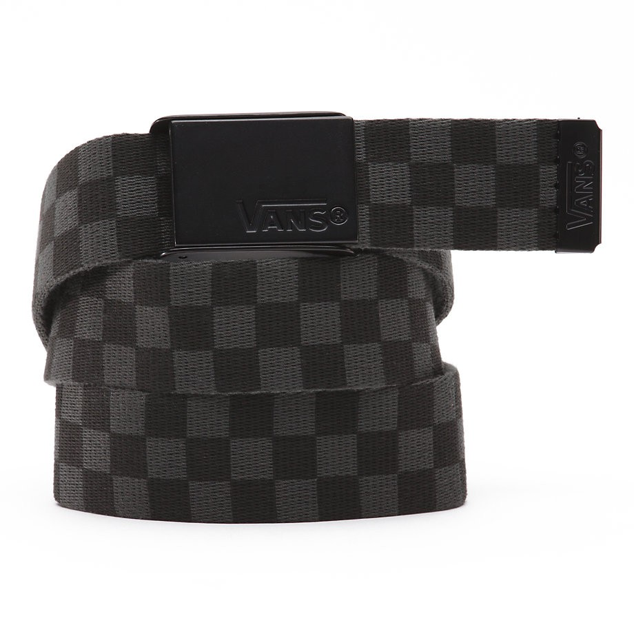 Opasek Vans Deppster Web black/charcoal vel.117 cm 17 + doručení do 24 hodin