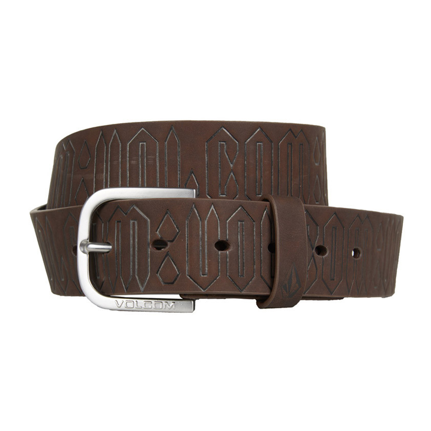 Opasek Volcom Draft dark chocolate