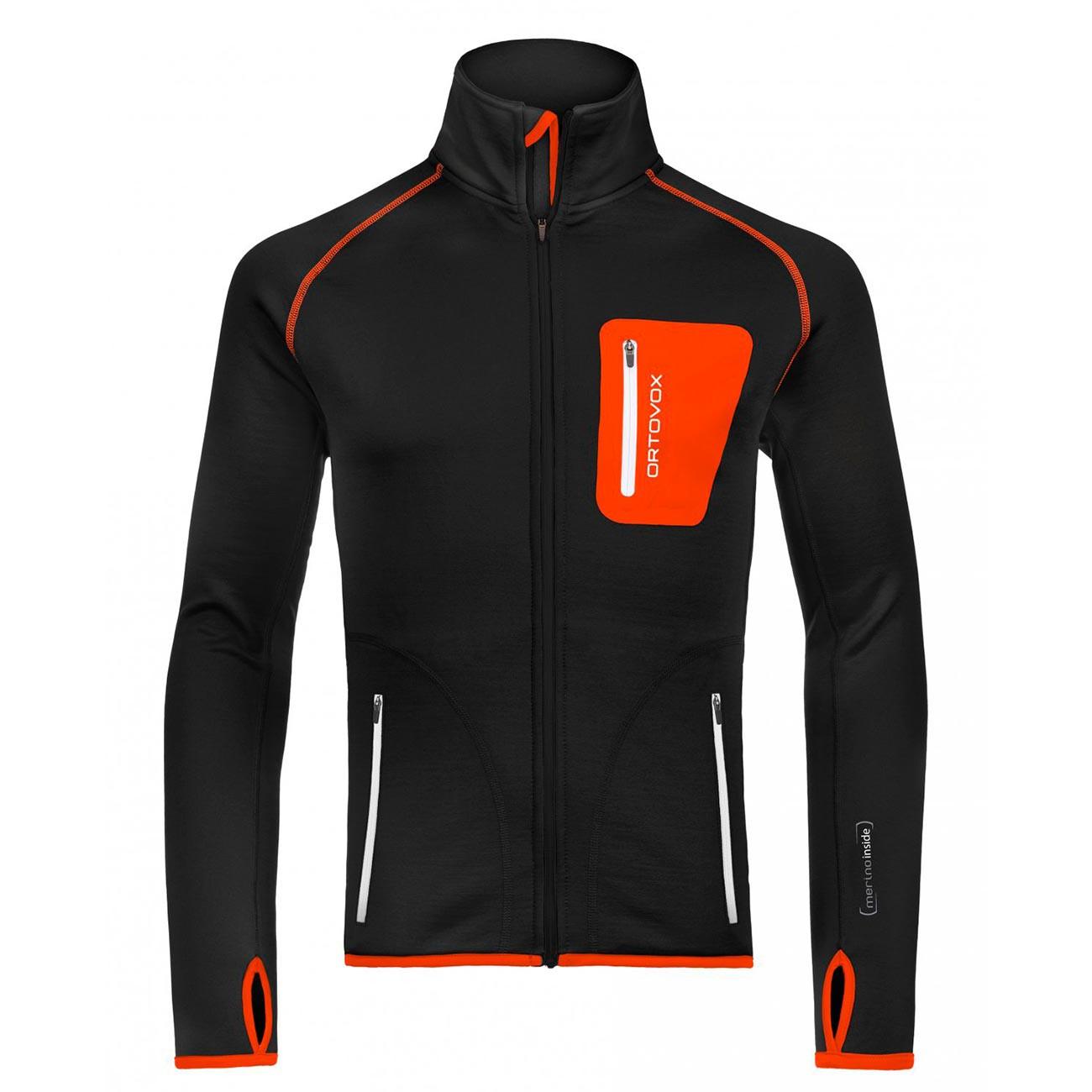 Ortovox Fleece Jacket black raven vel.M 16/17 + doručení do 24 hodin