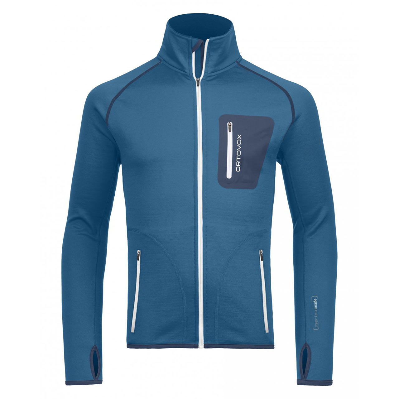 Ortovox Fleece Jacket blue sea