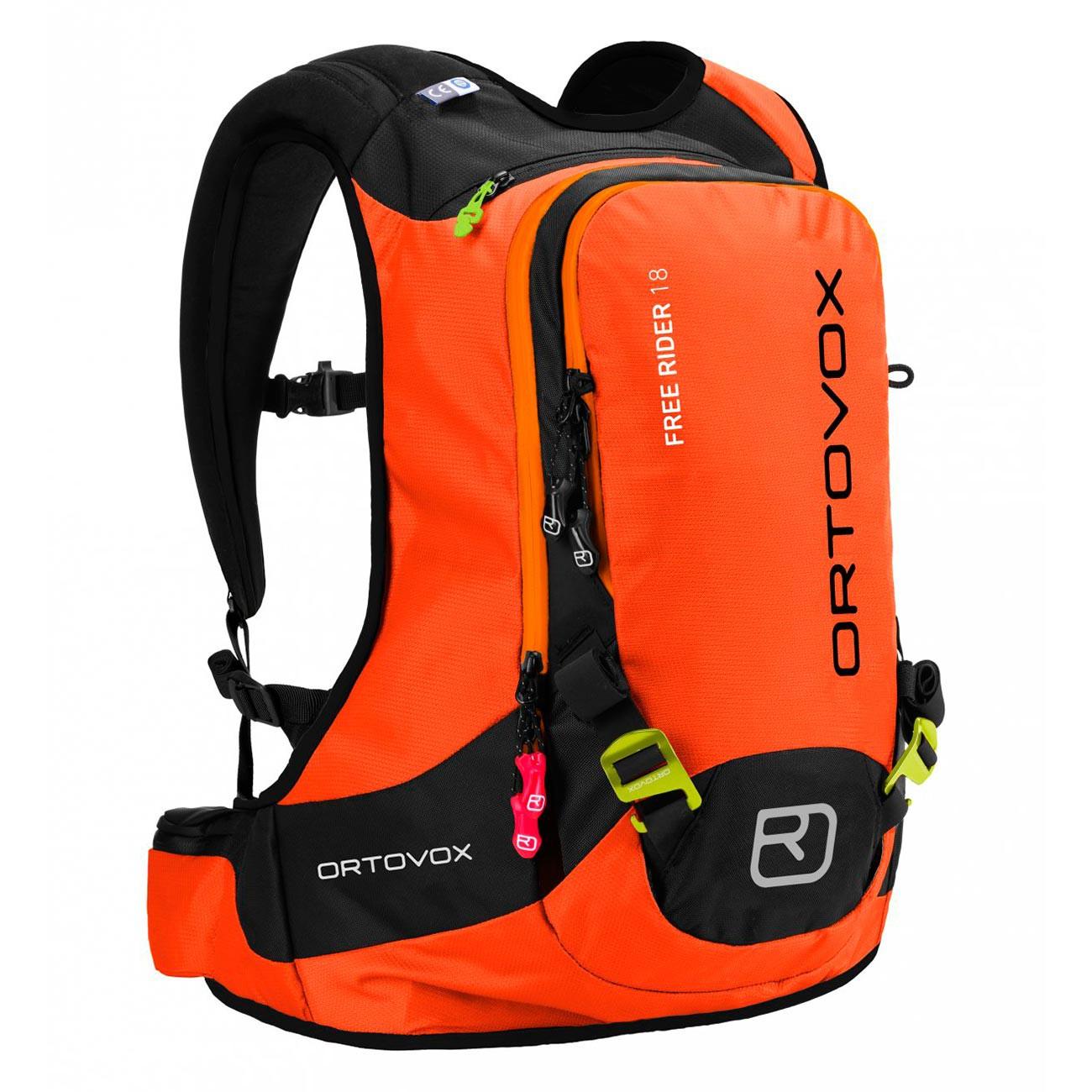 Batoh na snowboard Ortovox Free Rider 18 crazy orange vel.18L 16/17 + doručení do 24 hodin