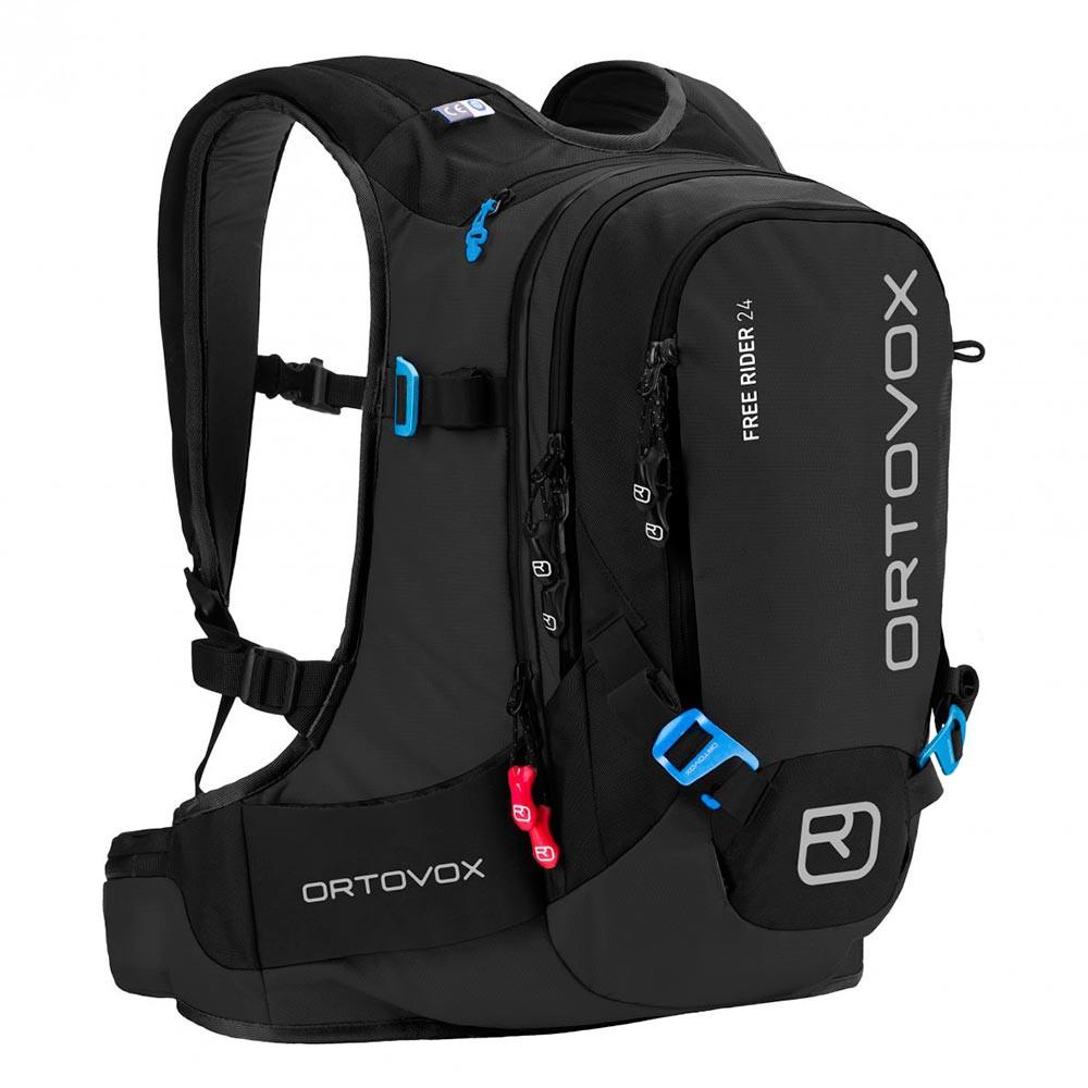 Batoh na snowboard Ortovox Free Rider 24 black anthracite