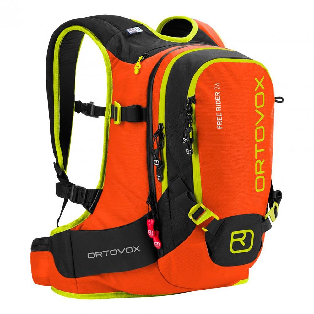 Batoh na snowboard Ortovox Free Rider 26 crazy orange vel.26L 16/17 + doručení do 24 hodin