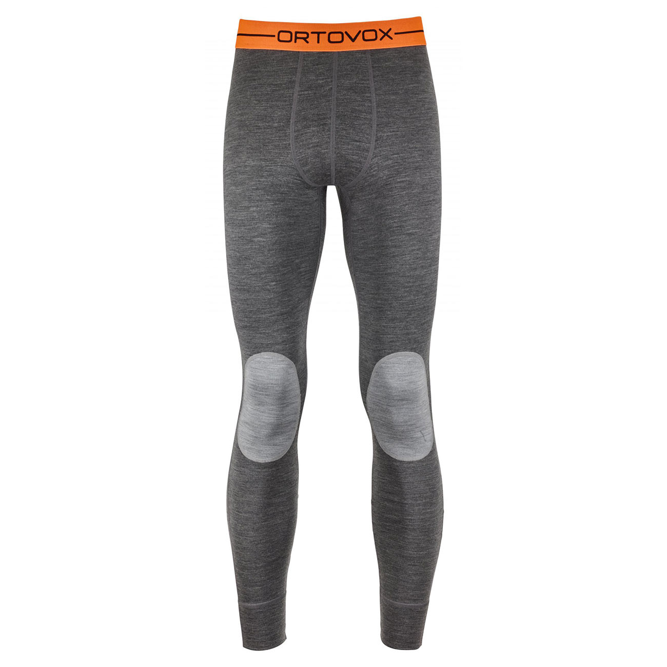 Spodky Ortovox Rock'n'wool Long Pants dark grey blend