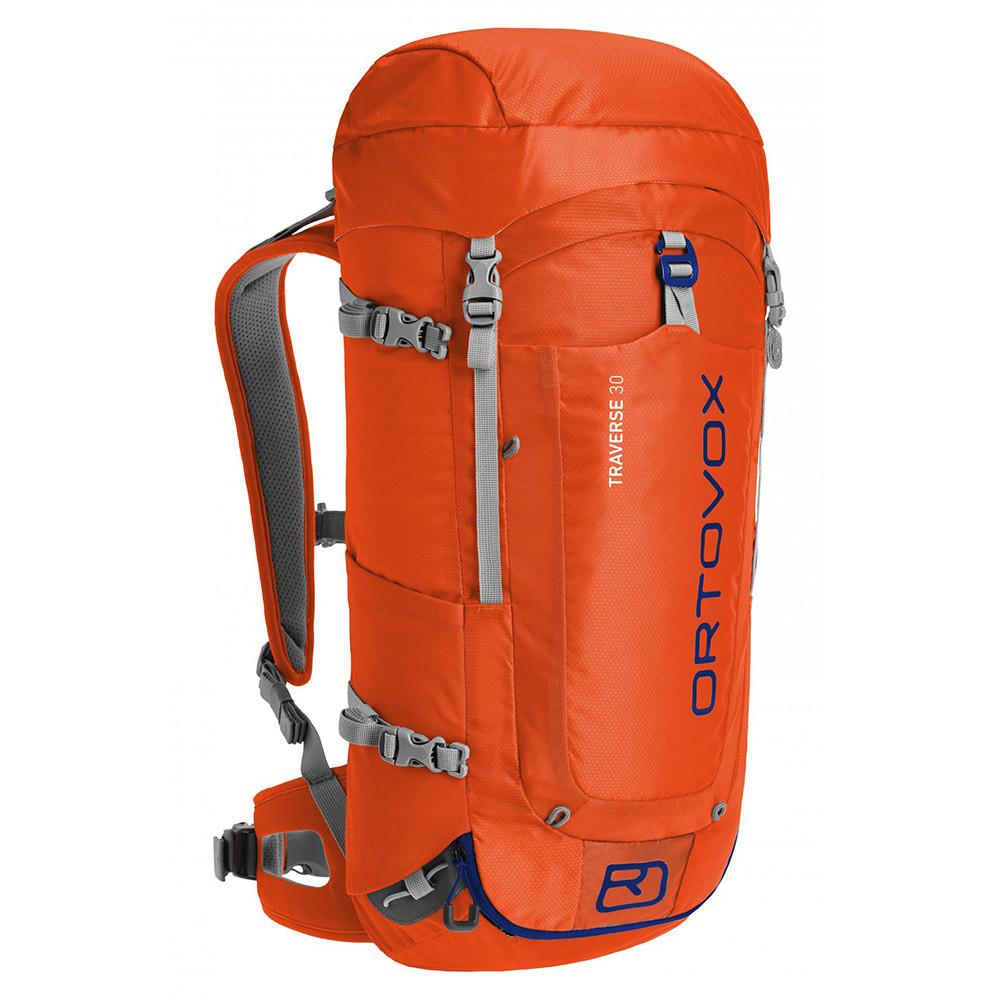 Ortovox Ski Backpack: Snowboard Backpack Ortovox Traverse 30 Crazy Orange