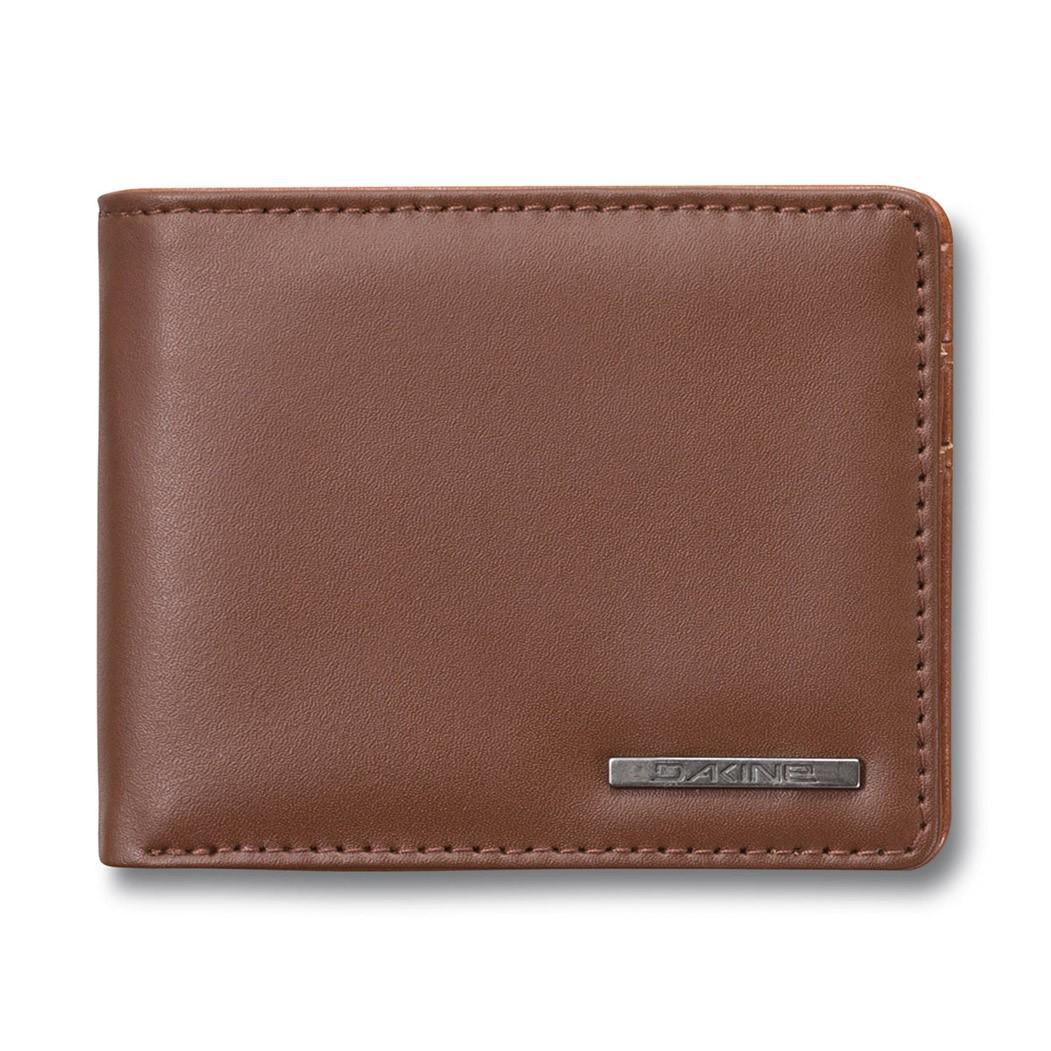 Peněženka Dakine Agent Leather brown