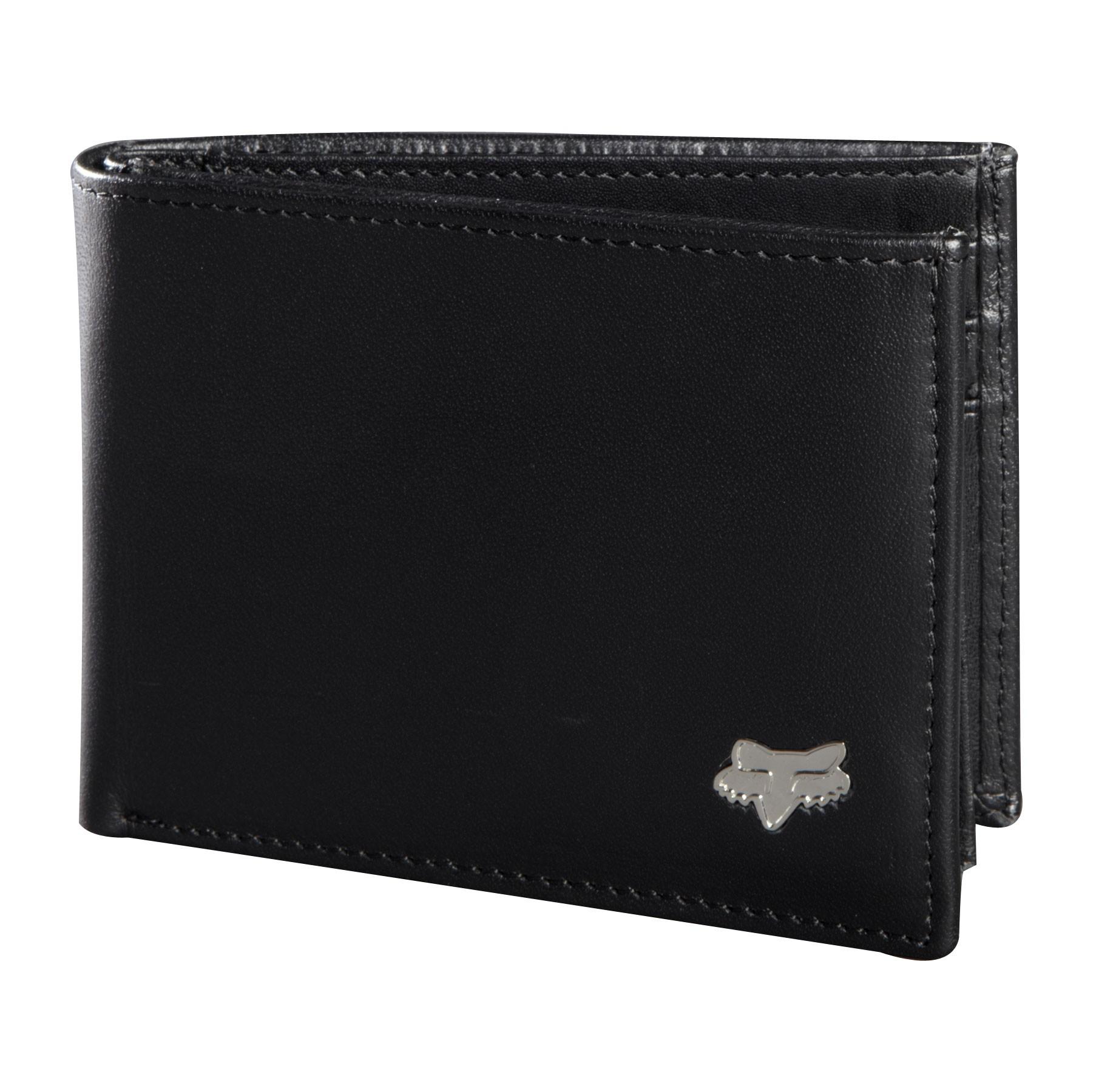 Peněženka Fox Bifold Leather black