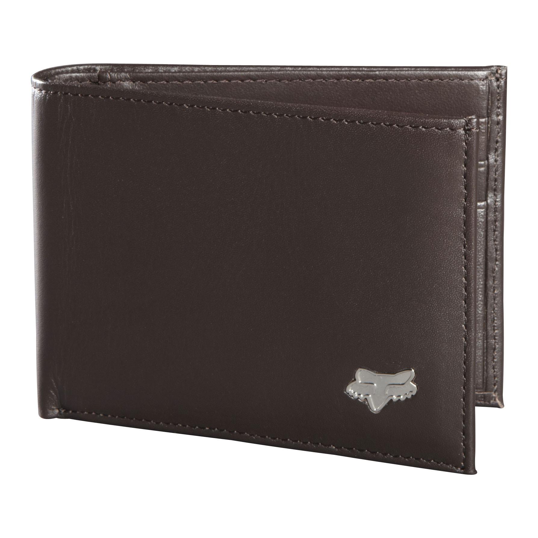 Peněženka Fox Bifold Leather brown