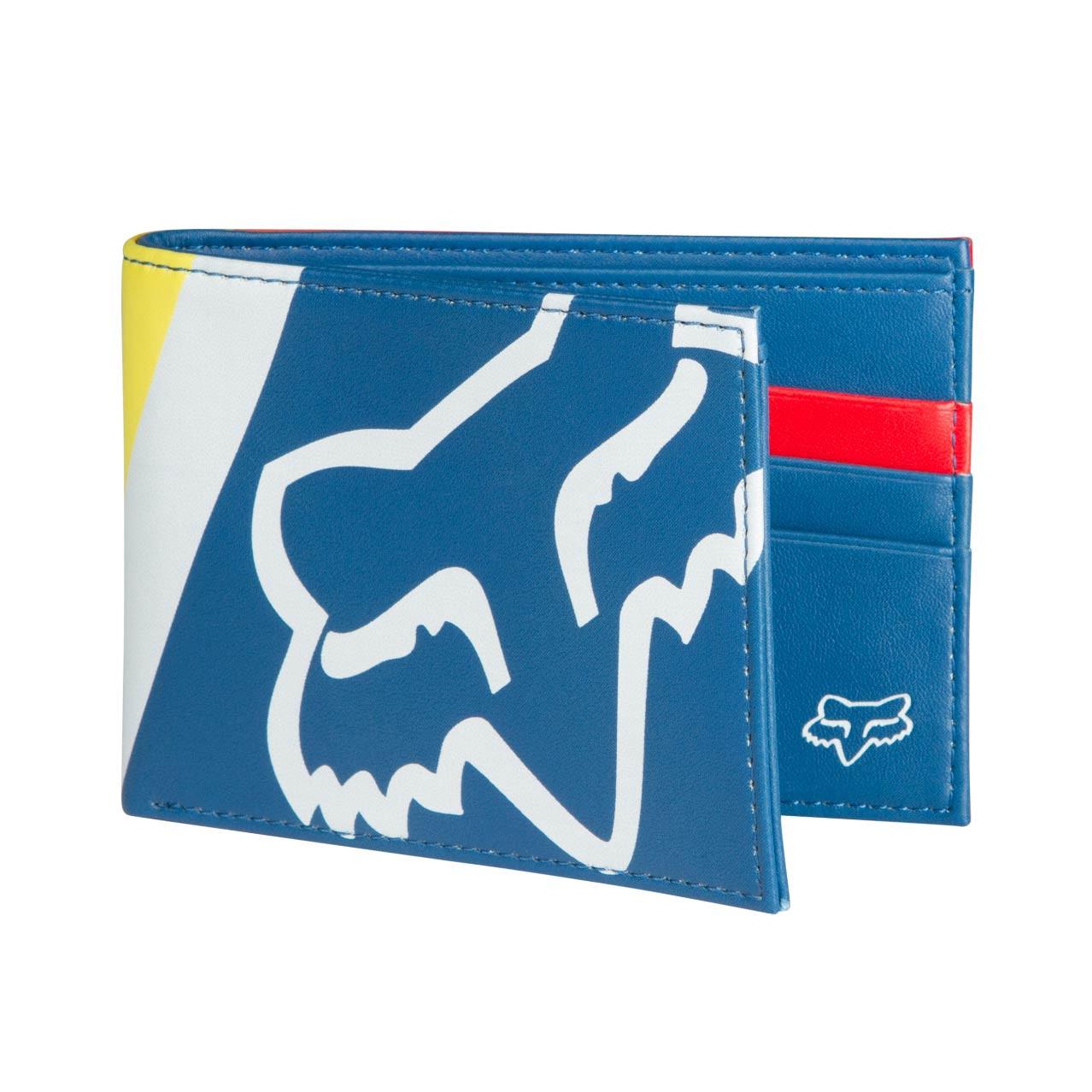 Peněženka Fox Drafter Pinned dusty blue