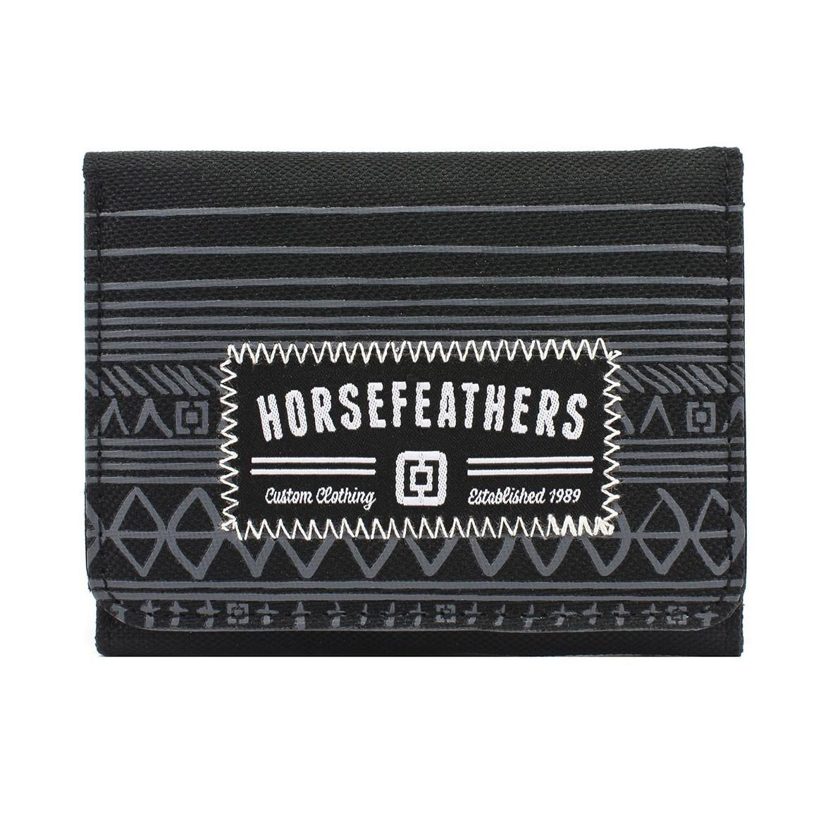 Peněženka Horsefeathers Derek black