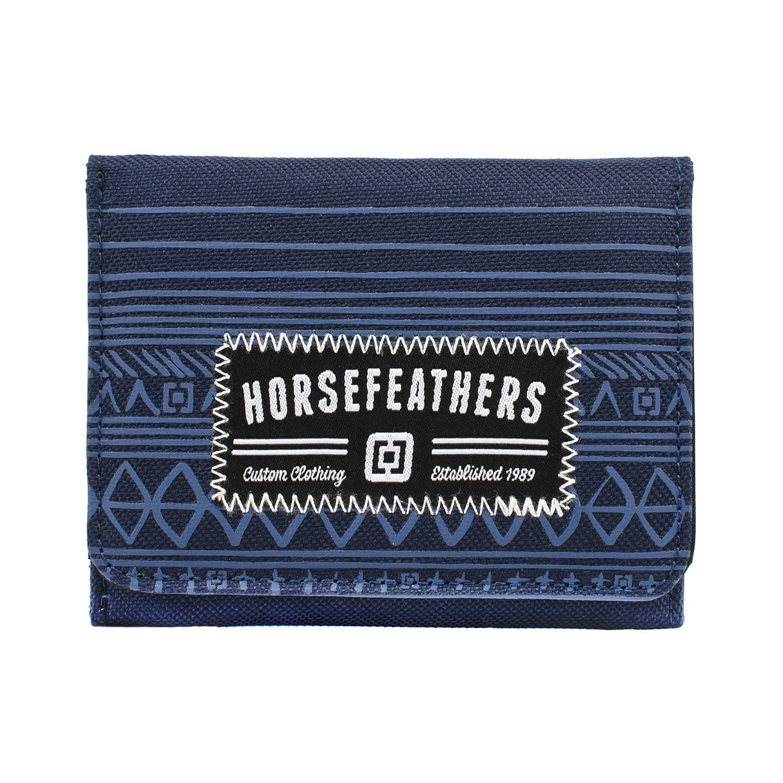 Peněženka Horsefeathers Derek blue