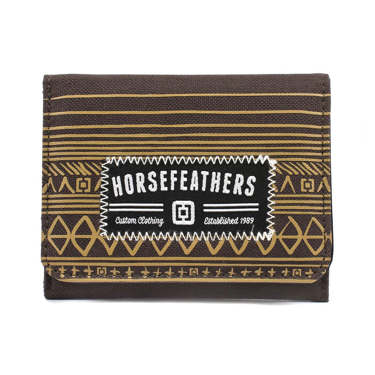 Peněženka Horsefeathers Derek brown
