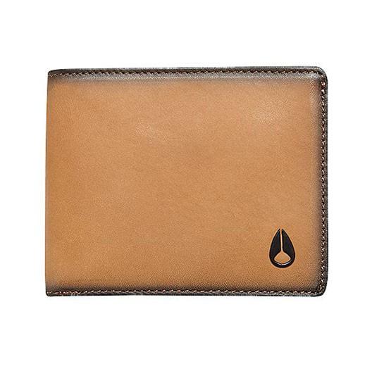 Peněženka Nixon Arc Bi-Fold tan vel.10,5 × 8,5 cm 17 + doručení do 24 hodin
