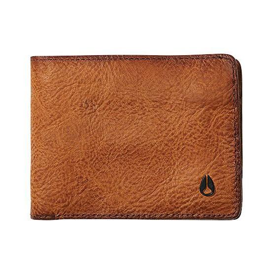 Peněženka Nixon Arc Se Bi-Fold brown wash