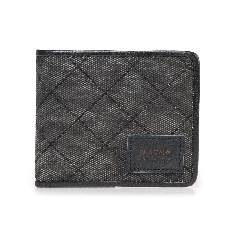 Peněženka Nixon Bespoke black vel.10,5×9 cm 15 + doručení do 24 hodin