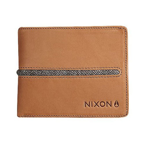 Peněženka Nixon Coastal Escape Bi-Fold Clip saddle