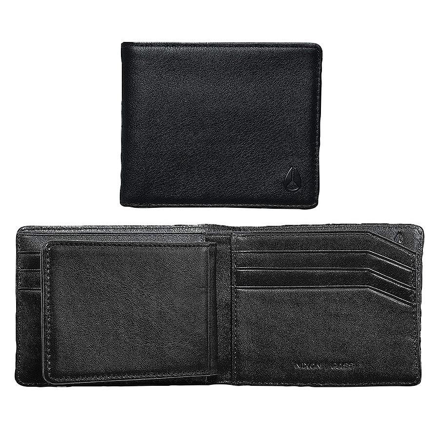 Peněženka Nixon Pass Bi-Fold ID all black