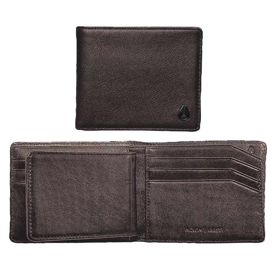 Peněženka Nixon Pass Bi-Fold ID brown