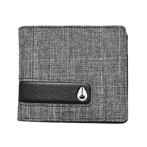Peněženka Nixon Showtime Bi-Fold Id Zip black wash