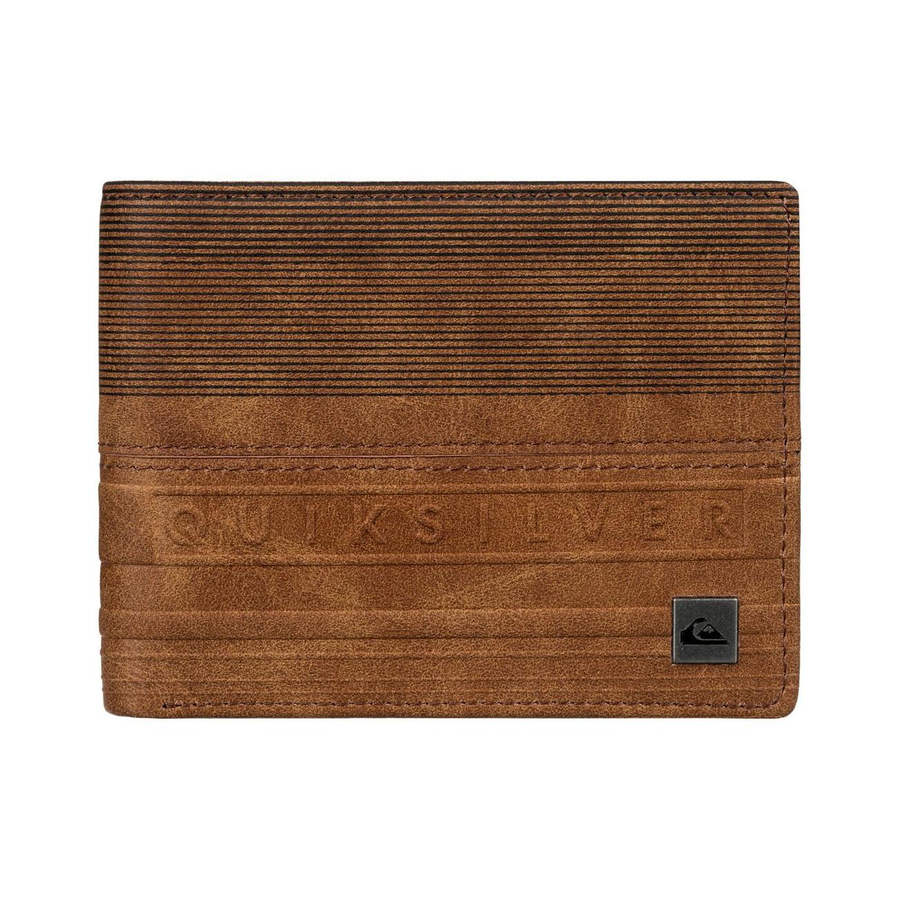 Peněženka Quiksilver Everyday Stripe Wallet bone brown