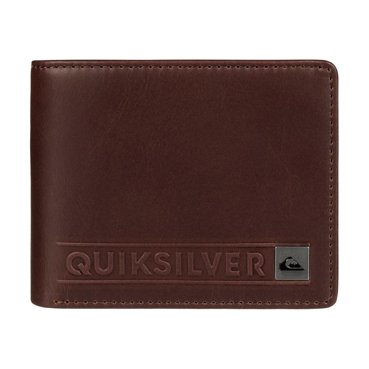 Peněženka Quiksilver Mack II chocolate