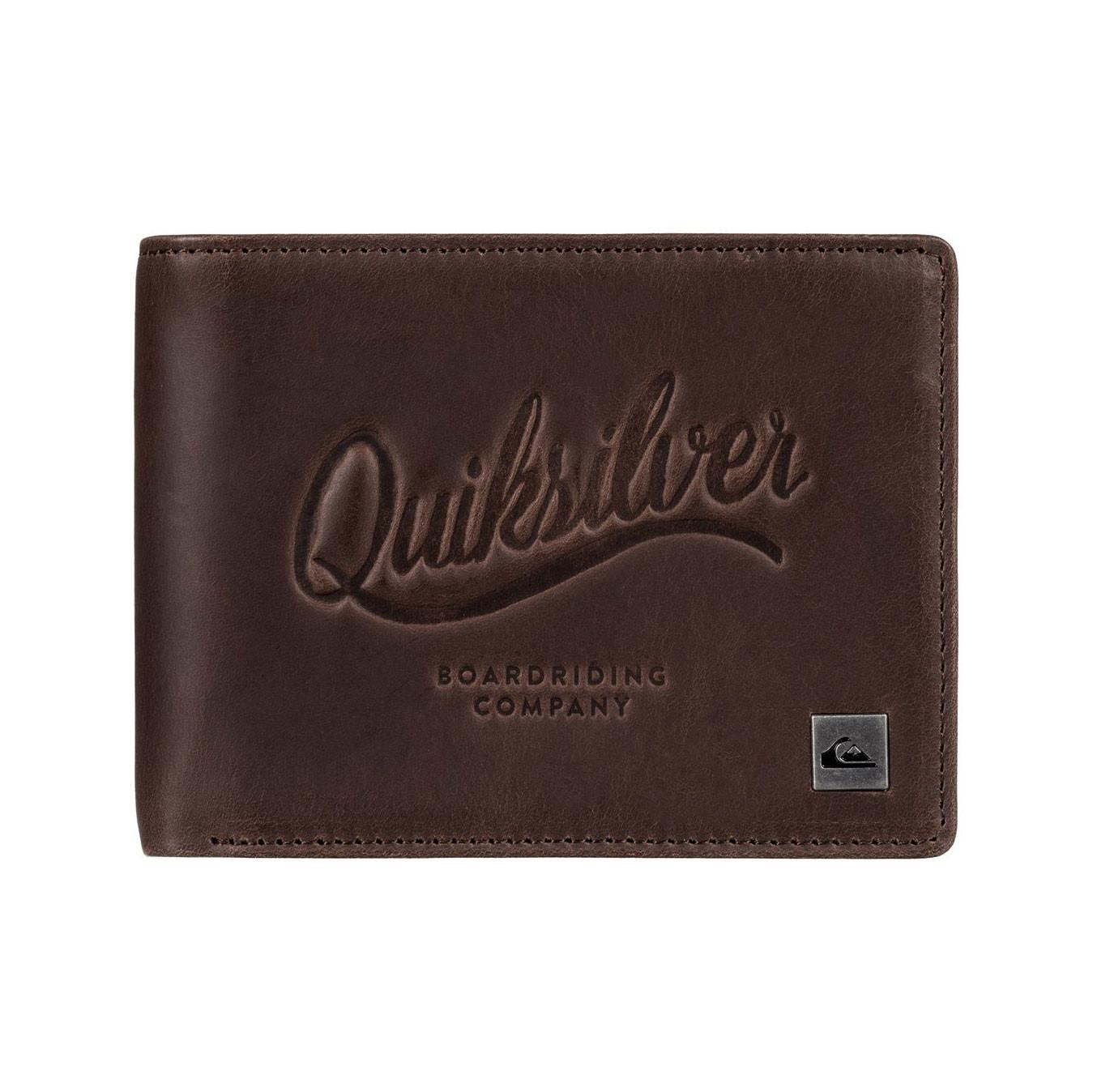 Peněženka Quiksilver Mack Iii chocolate