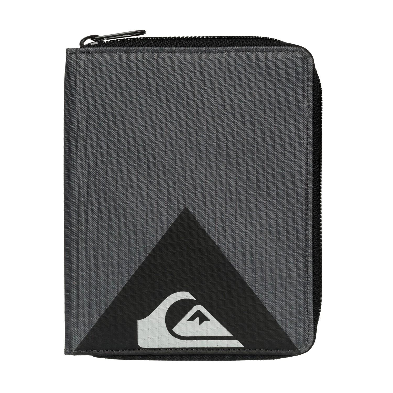 Peněženka Quiksilver Quik Travel Wallet dark shadow