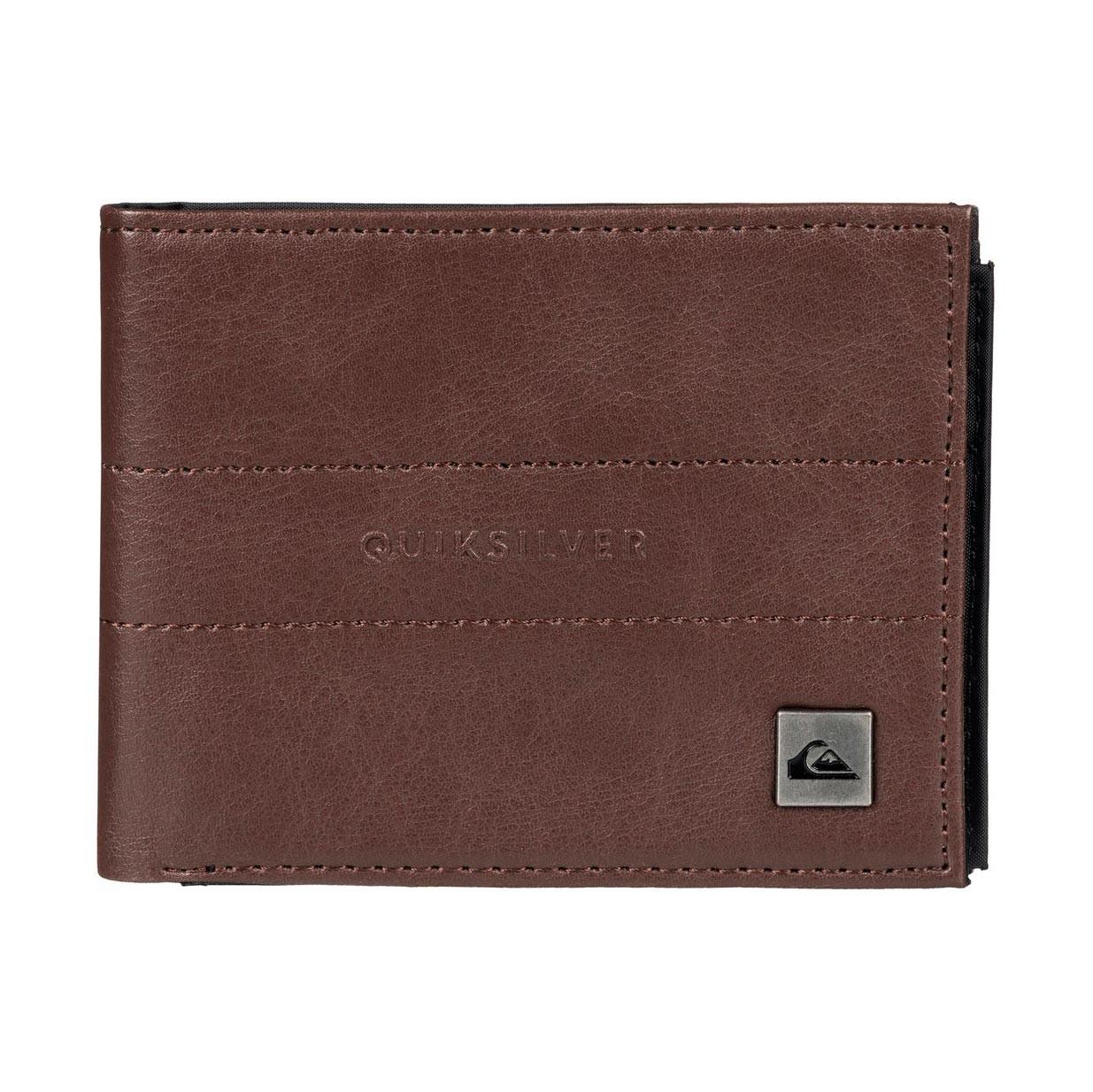 Peněženka Quiksilver Stitched II chocolate