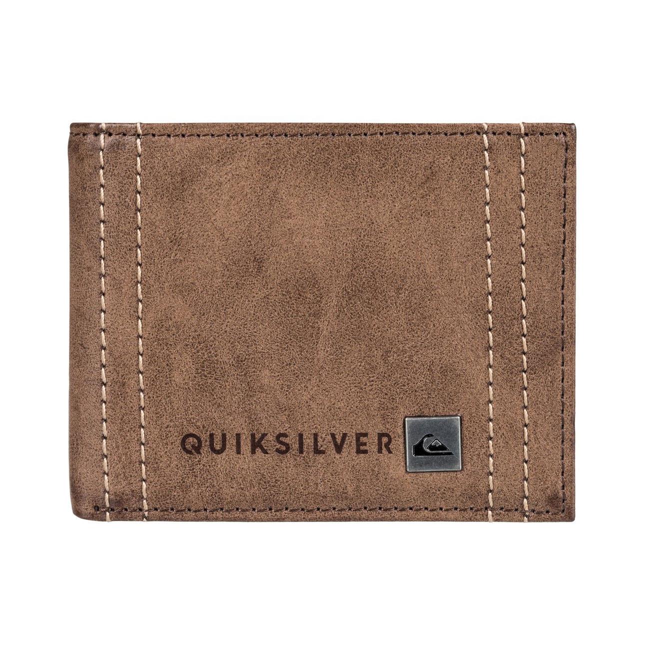 Peněženka Quiksilver Stitchy Wallet chocolate