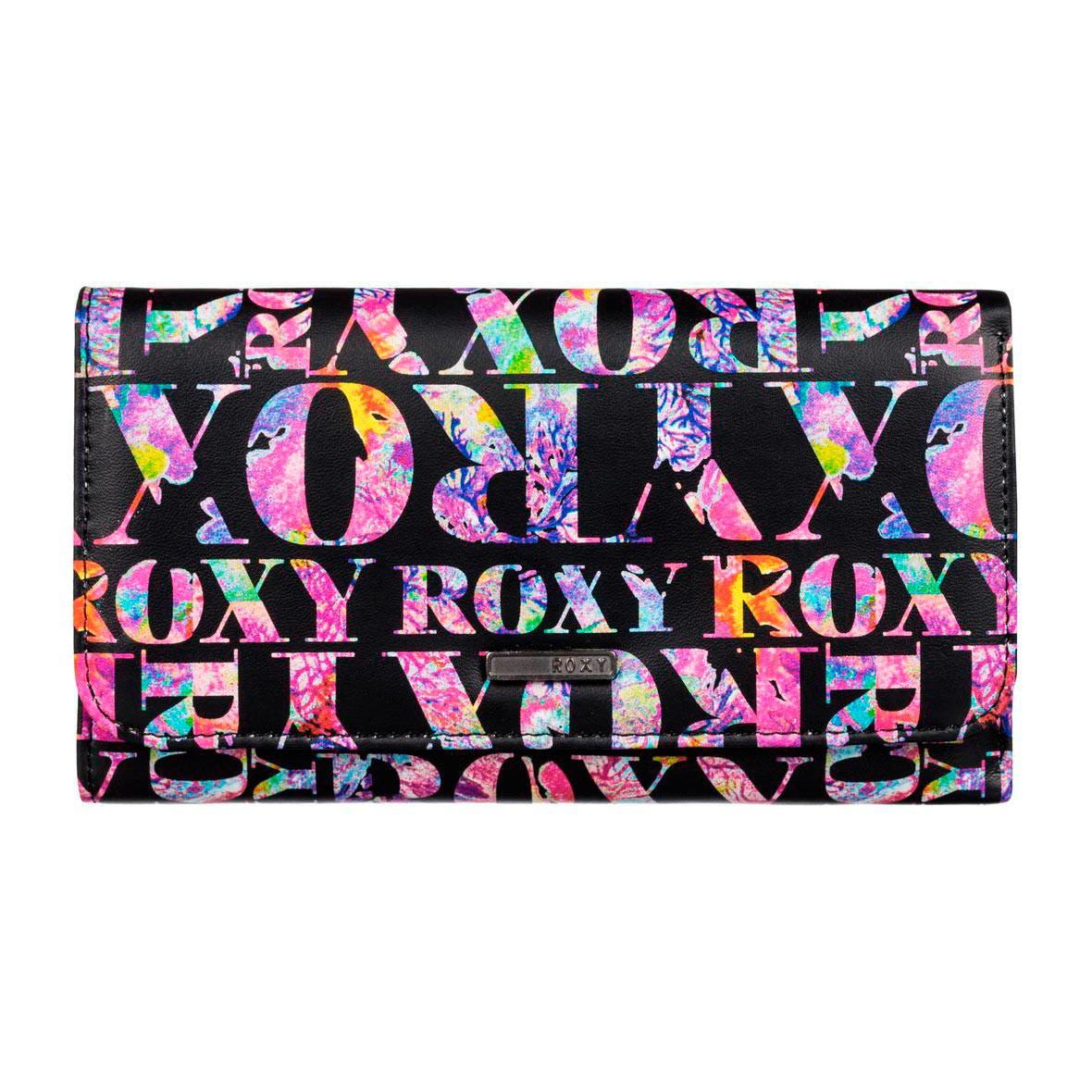 Peněženka Roxy My Long Eyes ax small corawaii true black