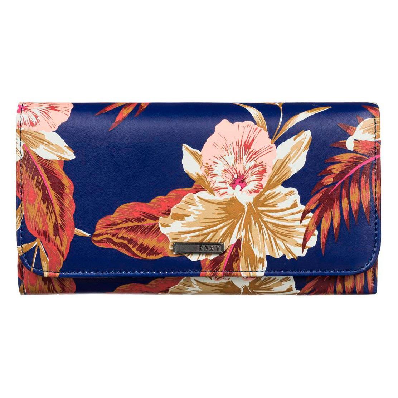 Peněženka Roxy My Long Eyes castaway floral blue print