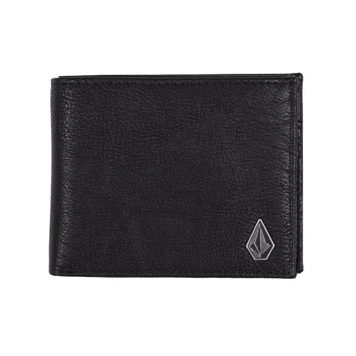 Peněženka Volcom Slim Stone black