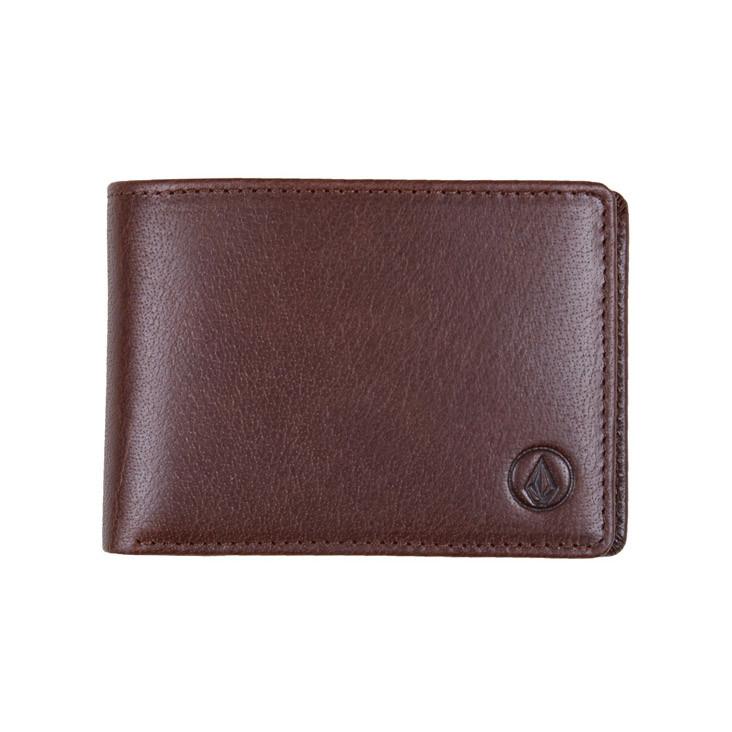 Peněženka Volcom Volcom Leather brown
