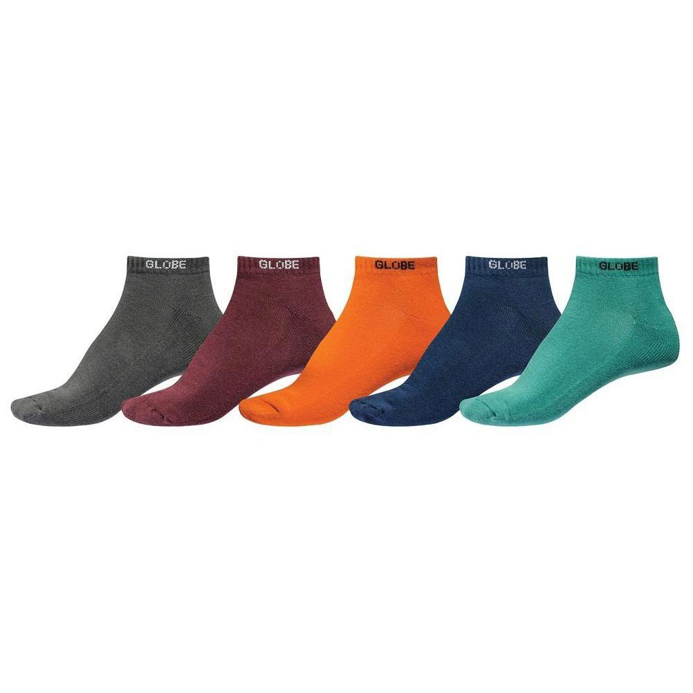 Ponožky Globe Kensington Ankle Sock 5 Pack assorted