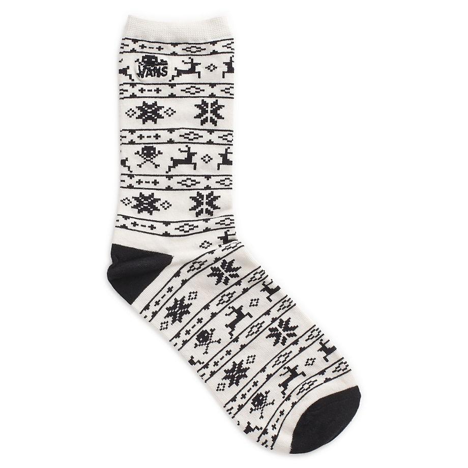 Ponožky Vans Ticker holiday white sand